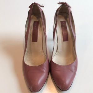 Marc Jacobs Mauve Leather Heels